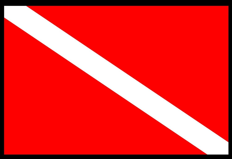 تاریخچه پرچم غواصی !!