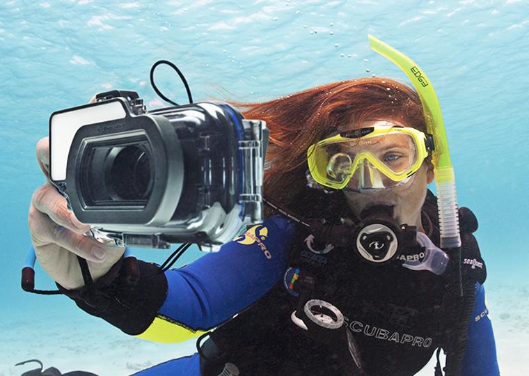 عکاسی زیر آب و تجهیزات آن