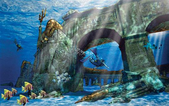 پارک زیر آب دبی!