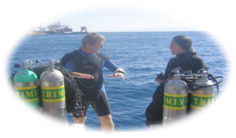 تفاوتِ میان گاز های مخلوط موجود در سیلندرهای غواصی اسکوبا