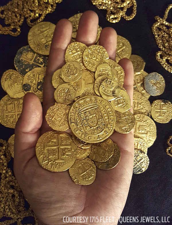 گنج یاب فلوریدایی، 1 میلیون دلار سکه طلا  در فورت پیرس فلوریدا پیدا کرد.