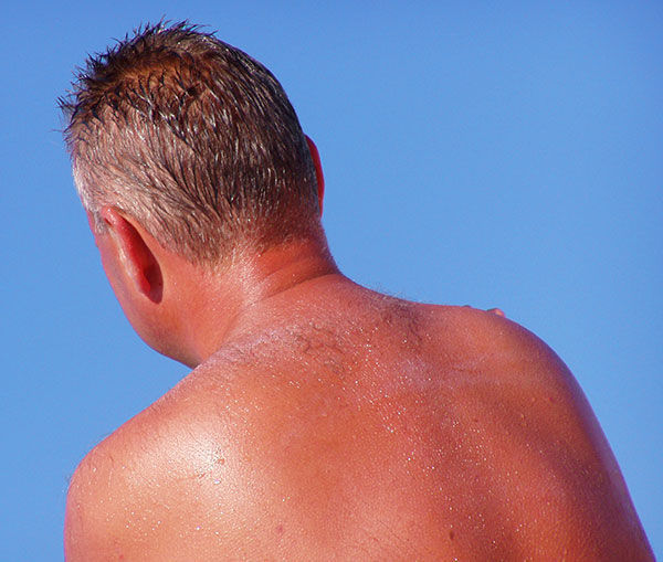 غواص سالم=ضد آفتاب